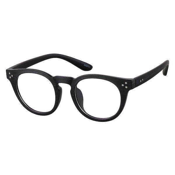 673ef21c2762 Zenni Round Prescription Eyeglasses Black Tortoiseshell TR 2022721