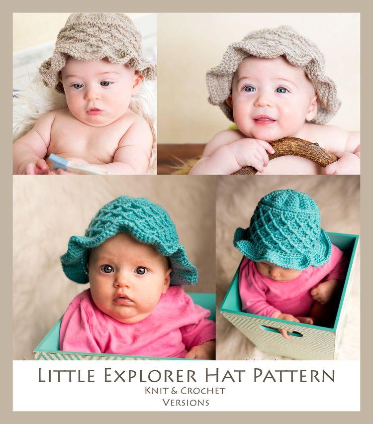 Little Explorer Hat Crochet Pattern By Melody Rogers