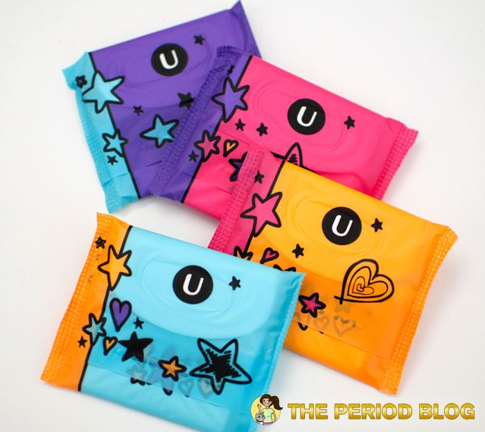 U By Kotex Tween Combo Pack Pads & Pantiliners Review