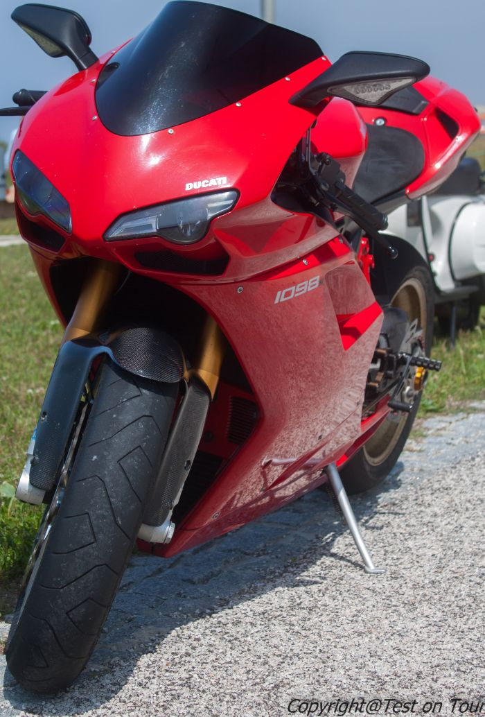 Ducati 1098s! What a nice ride!