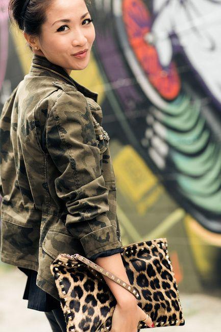 Prints :: Camo jacket