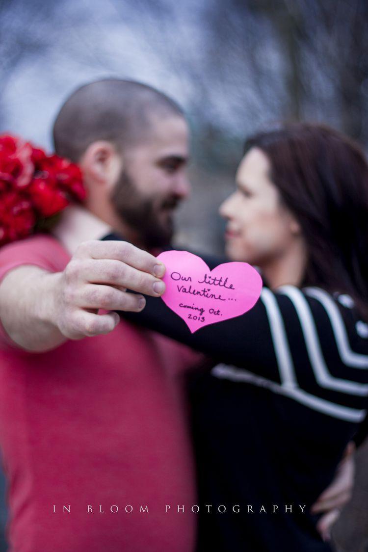 Valentine S Day Pregnancy Announcement Ideas