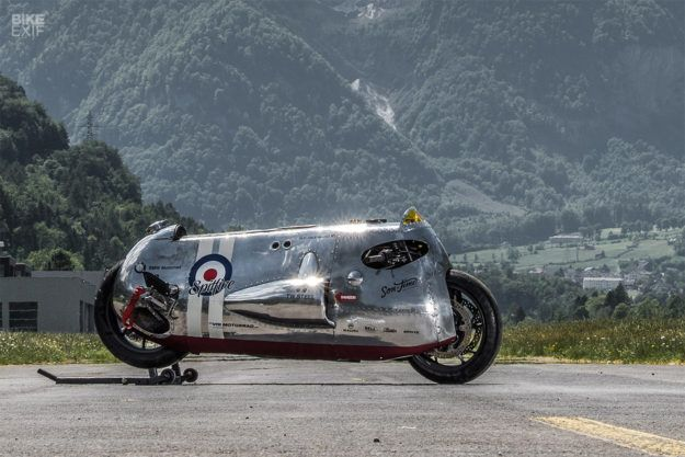 Spitfire: The VTR Customs x TW Steel BMW R1200 R with built-in flame thrower