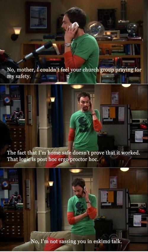 """Sheldon on the """"power of prayer."""" - Imgur"""