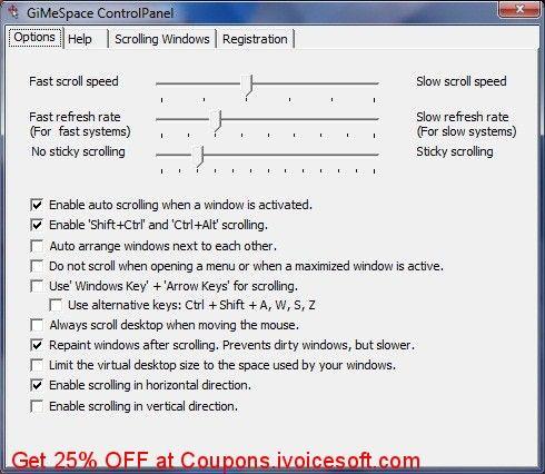 GiMeSpace Desktop Extender 3D Coupon 25% discount code, Mar