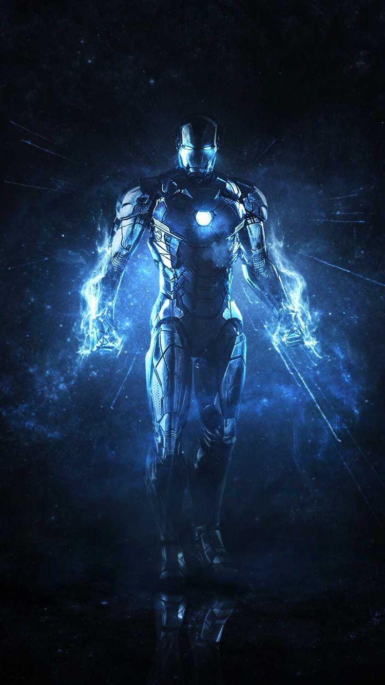 Dark Space Iron Man IPhone Wallpaper