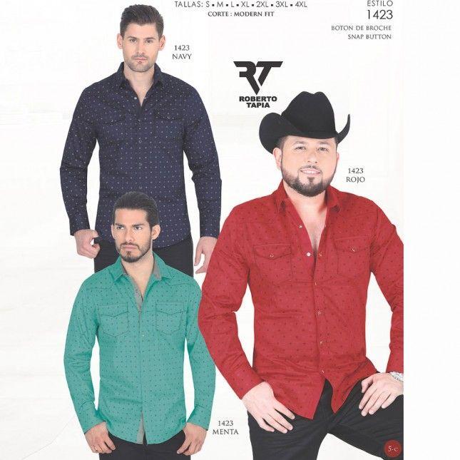 ca09ec13aa Camisa Lamasini Jeans 1423 Snap Button