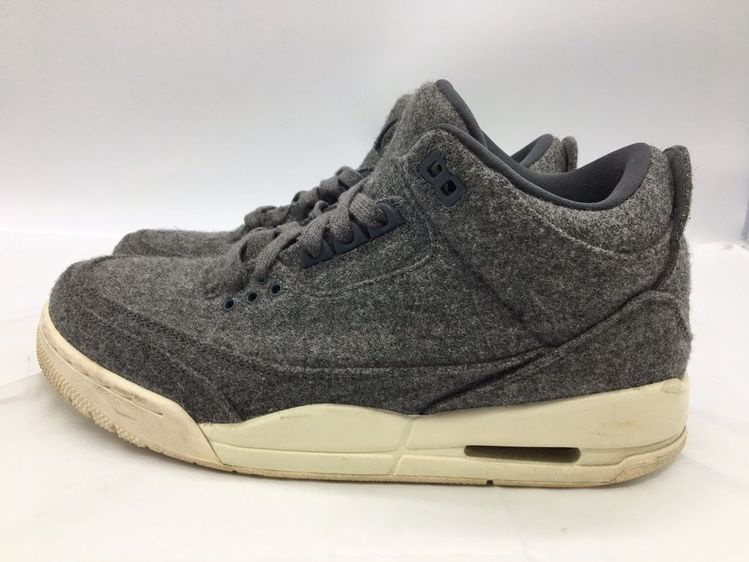 fd9716d77f4 Air Jordan 3 III Retro Wool SZ 8 2016 Dark Grey Sail Cement OG 854263-004   fashion  clothing  shoes  accessories  mensshoes  athleticshoes (ebay link)