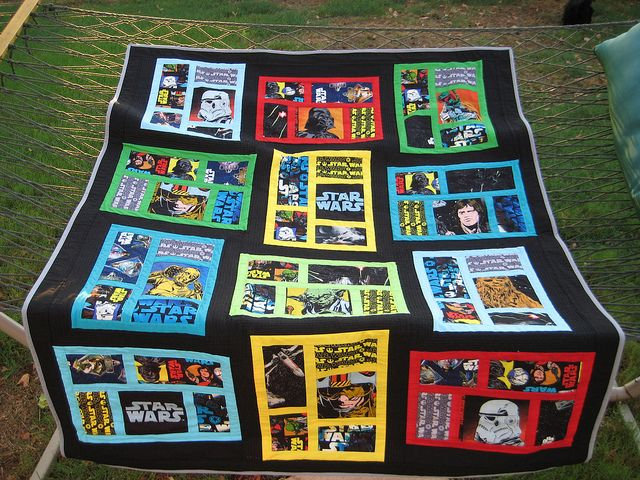 Star Wars Quilt By Bvselby Via Flickr