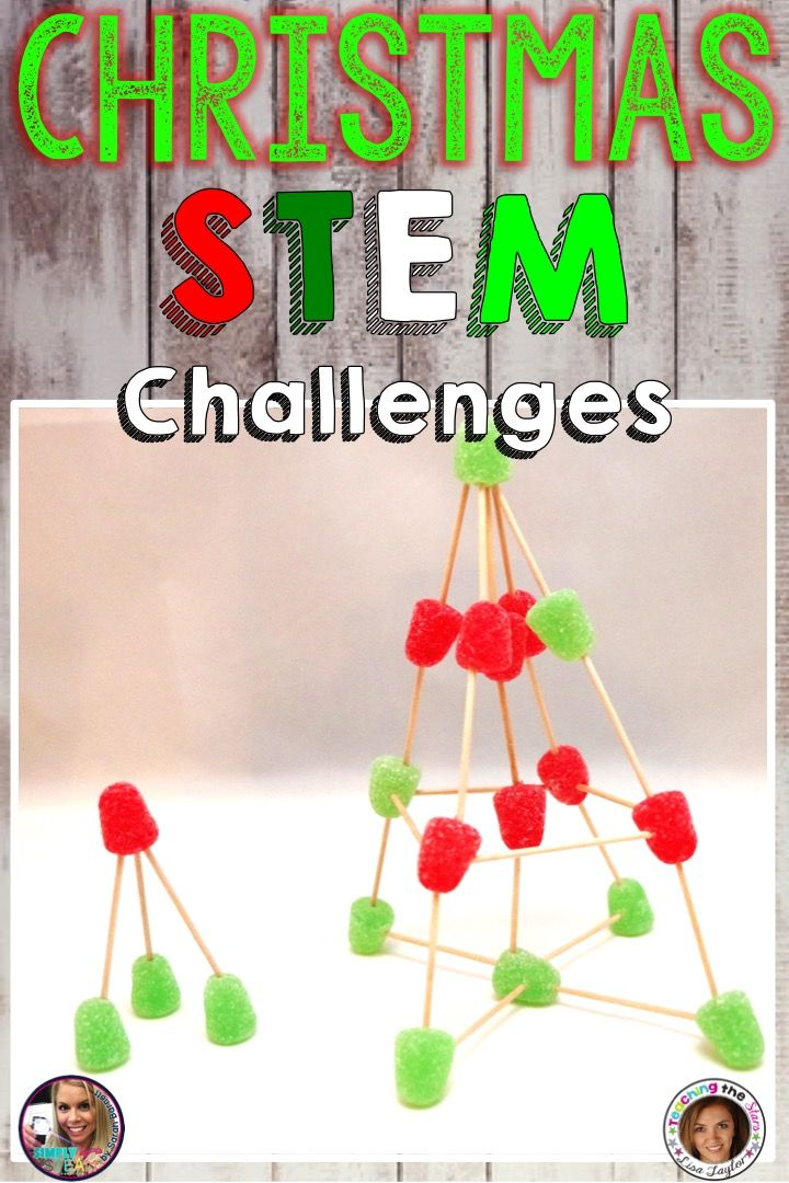 Stem Christmas Challenges K 2