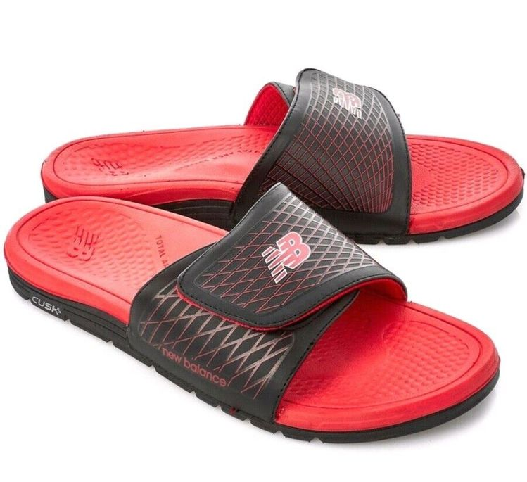 8d7bba6189a9 New Balance Cush Slide M3064 Black Red Size 9  fashion  clothing  shoes   accessories  mensshoes  sandals (ebay link)