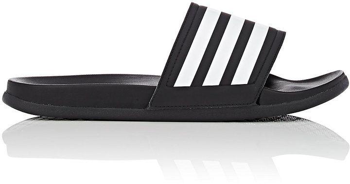 af368c53fb5c adidas Men s Adilette Cloudfoam Plus Slide Sandals - Black