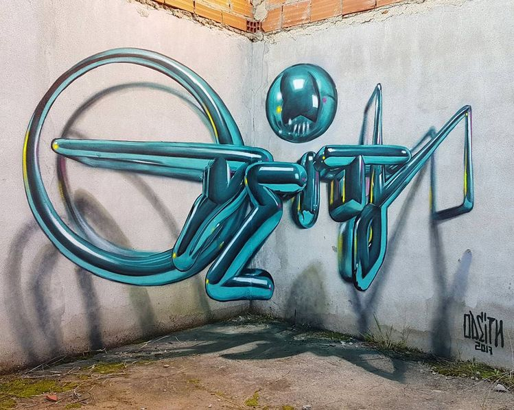 "ODEITH on Instagram: ""LOCAL NOSTALGIA #odeith #anamorphic #art #urbanart #street #streetphotography #mural #urban #streetarteverywhere #graff #artist #artwork…"""