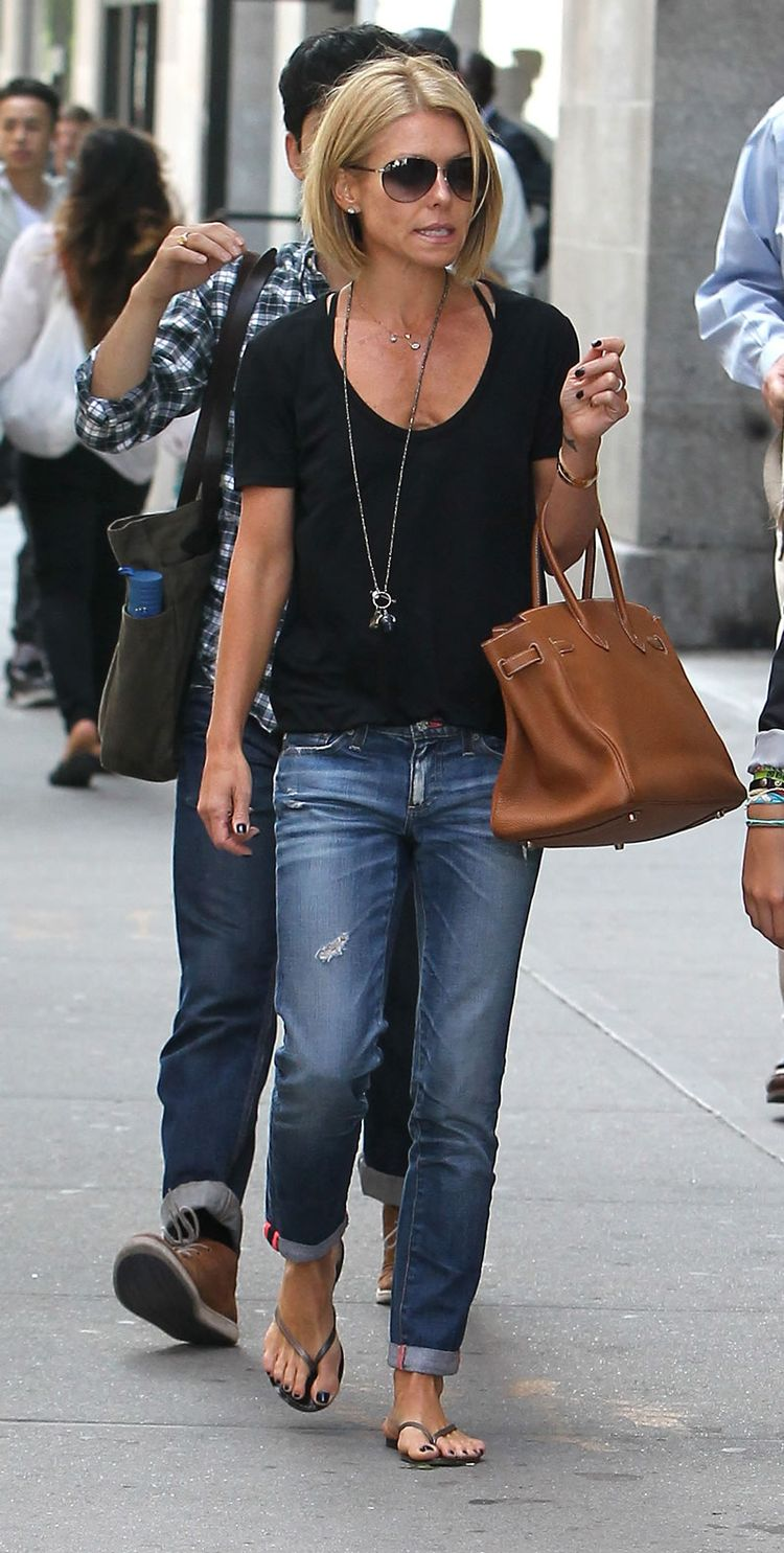Love the relaxed boyfriend Jean. It's distressed without being destroyed and the Jean is still fitted and has shape with out swallowing her petite size.