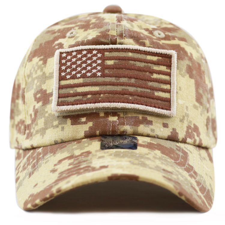 Low Profile Tactical Operator with USA Flag Patch Buckle Cotton Cap e0c4dc935572
