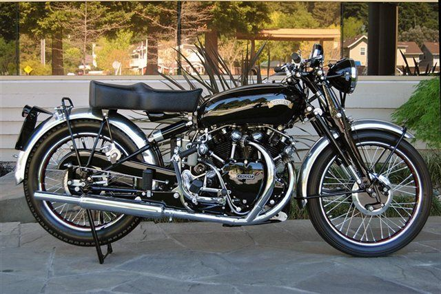 1951 Vincent Black Shadow Series C