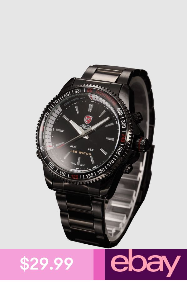 3d4e6fb5fb0 Shark Wristwatches Jewelry   Watches