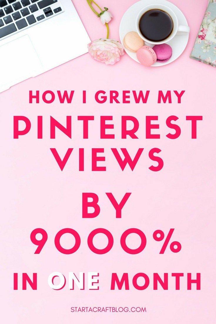 Bloggers: Como eu alcancei meu Pinterest em 26,5 milhões de euros em 100 dias