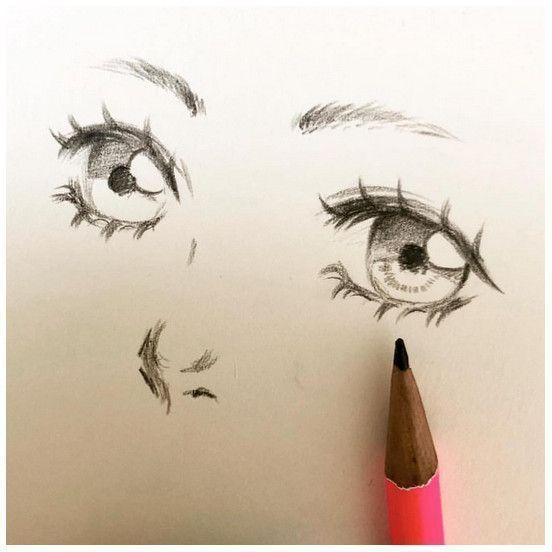 Eu gostaria de saber desenhar assim Artista: @chocofabu 😍😍-⏩ Se você ama ani