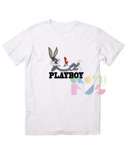 f9ee7313f3 Bugs Bunny Playboy Custom T Shirt Design Ideas