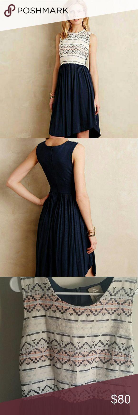 0c0a78b816cbe RARE Anthropologie M Dolan Left Coast Sabado dress This is a perfect summer  dress. Top