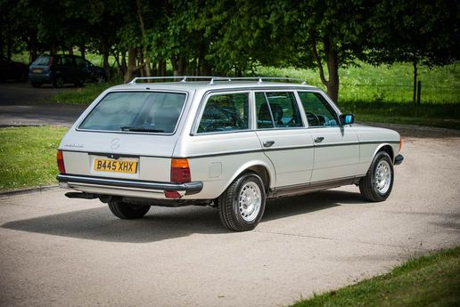 1985 Mercedes Benz W123 280 Te Estate Silverstone Auctio