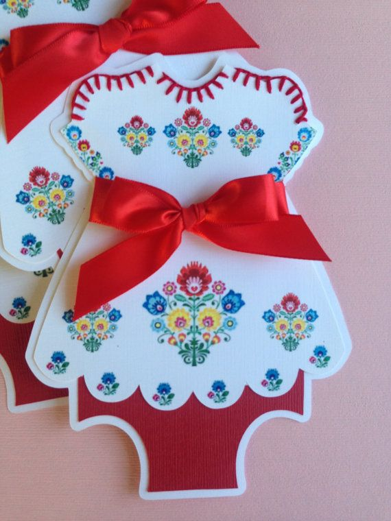 Mexican Fiesta Dress Invitations With Flower Details 25 B