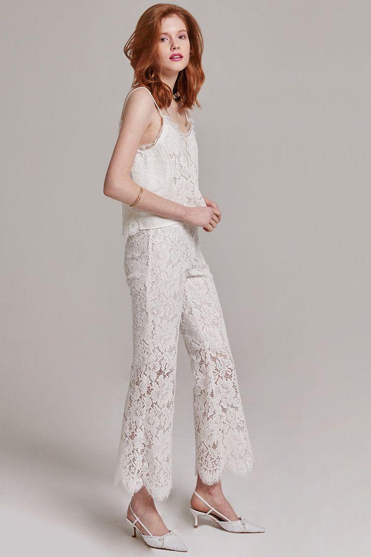 ca5ec3824e61 Gemma Lace Cropped Pants
