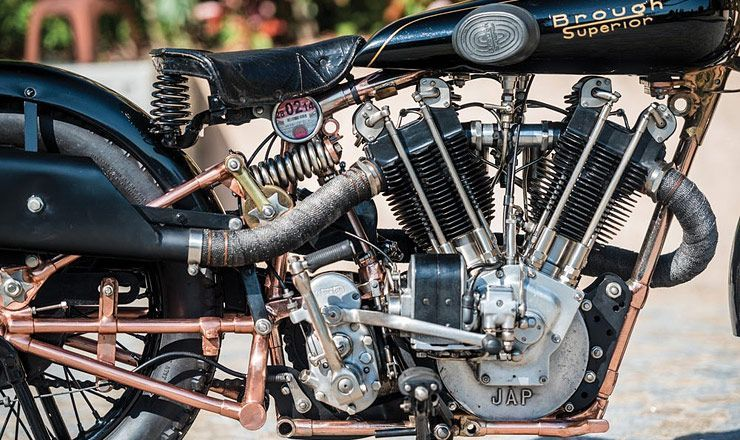 """90 Years Old """"Moby Dick"""" Brough Superior Threatens To Break Motorcycle Auction Records"""