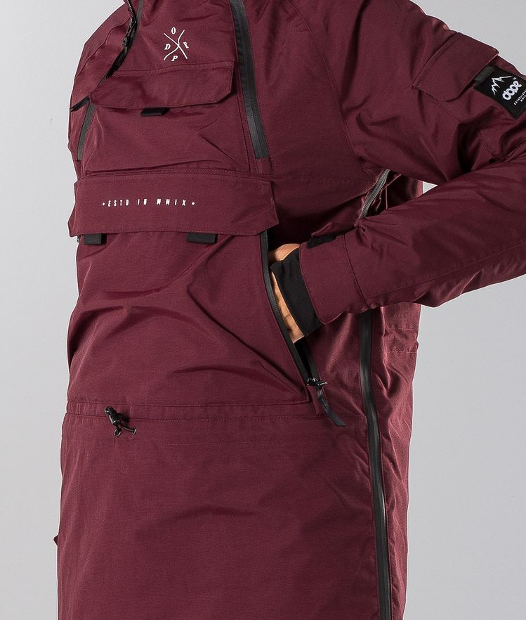 028e18d40766 Dope Akin W Snowboard Jacket White t
