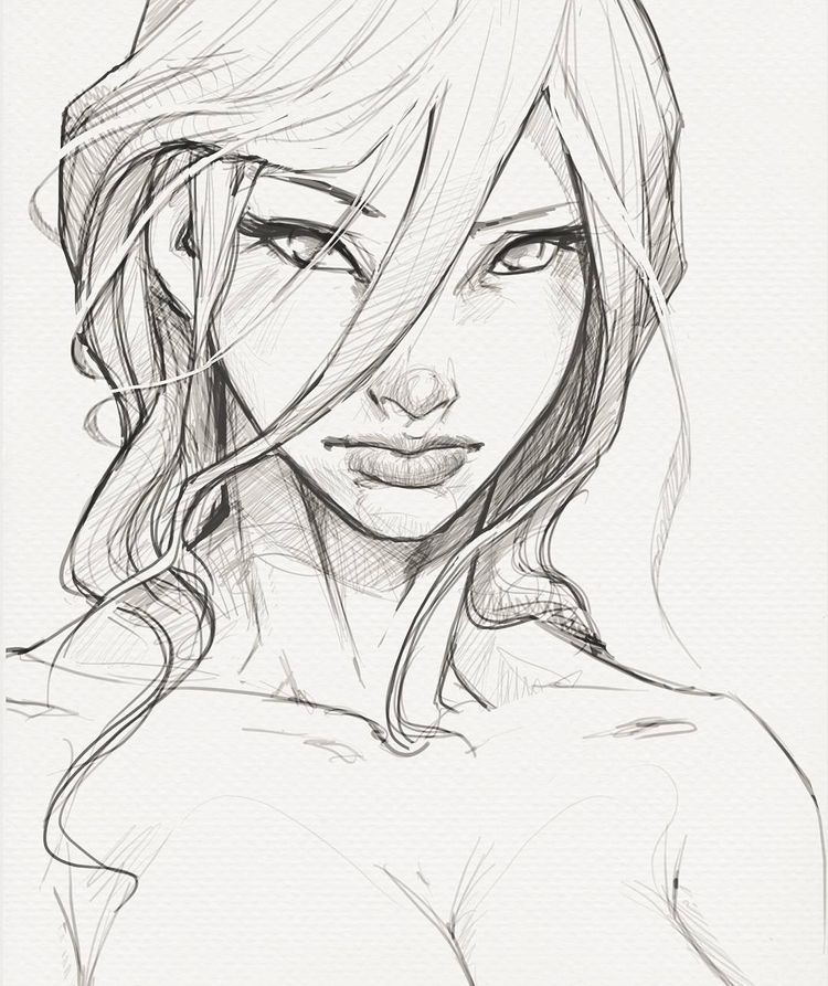 "Ricardo Rodrigues no Instagram: ""Esboço #desenhando #modelos #sketchbook #sketch #drawing #comicart #girl #pinup #character #instaart #instapic #artist # art_collective…"""