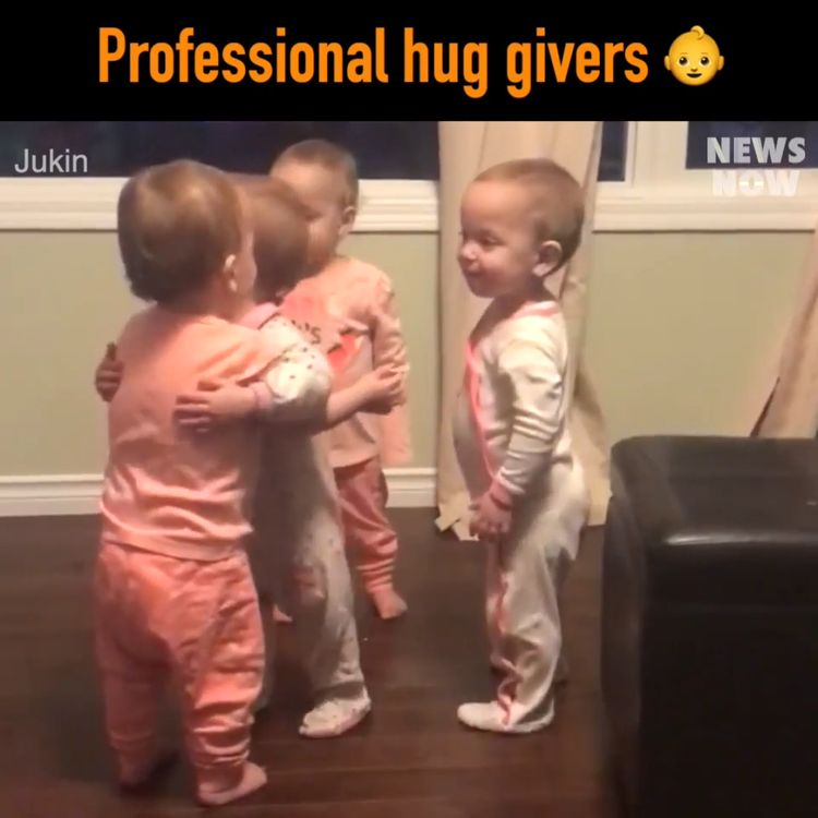 Professional huggers in training