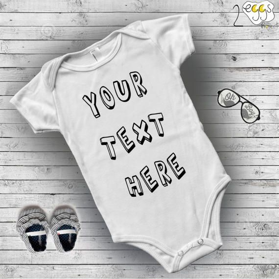 f65167d094d Your text here baby onesie