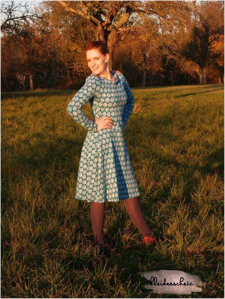 Twin(e)book Basic Winterkleid - Schnittmuster und Anleitun