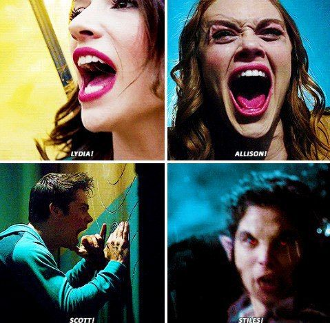 I can actually hear Lydia's scream perfectly right here. I remember exactly what it sounded like because that was a pretty fricking emotional moment for all of us.