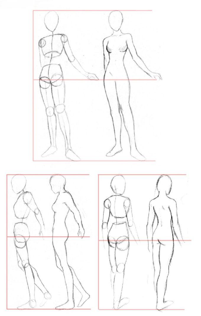 Desenhando o corpo