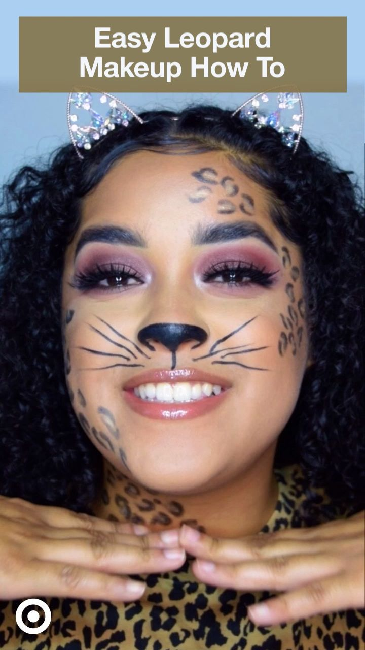 Upgrade your cat costume! Follow along with our easy leopard makeup tutorial to complete your outfit.