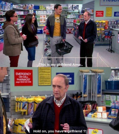 Professor Proton doubts Sheldon has a girlfriend.