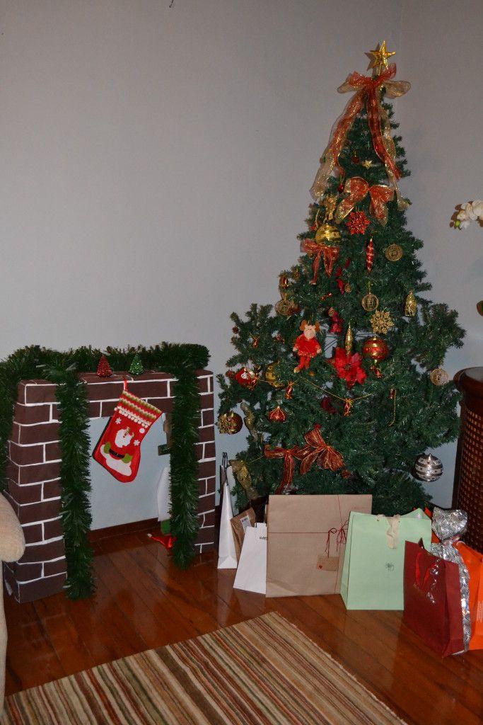 Chamine Para A Chegada Do Papail Noel Tati Gradim