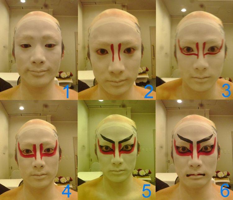 Kabuki Makeup By Nicojay On Deviantart - Kabuki-makeup