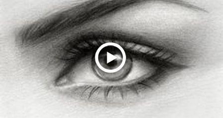 Desenhar um olho com apenas um lápis