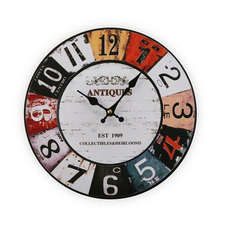 0ef3160c69b4e Horloge Murale Antique - Taille : Taille Unique