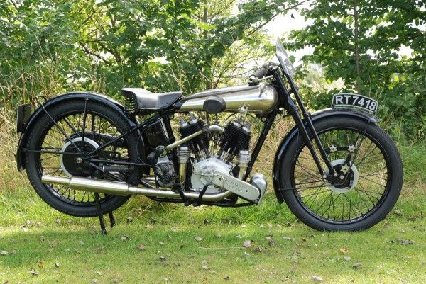 The 1931 and 1926 Brough Superior Motorcycle Offered on Bonhams