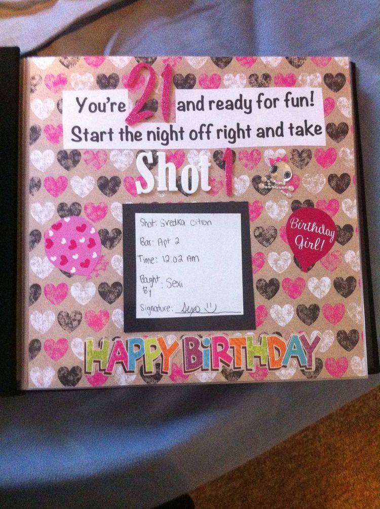shot book