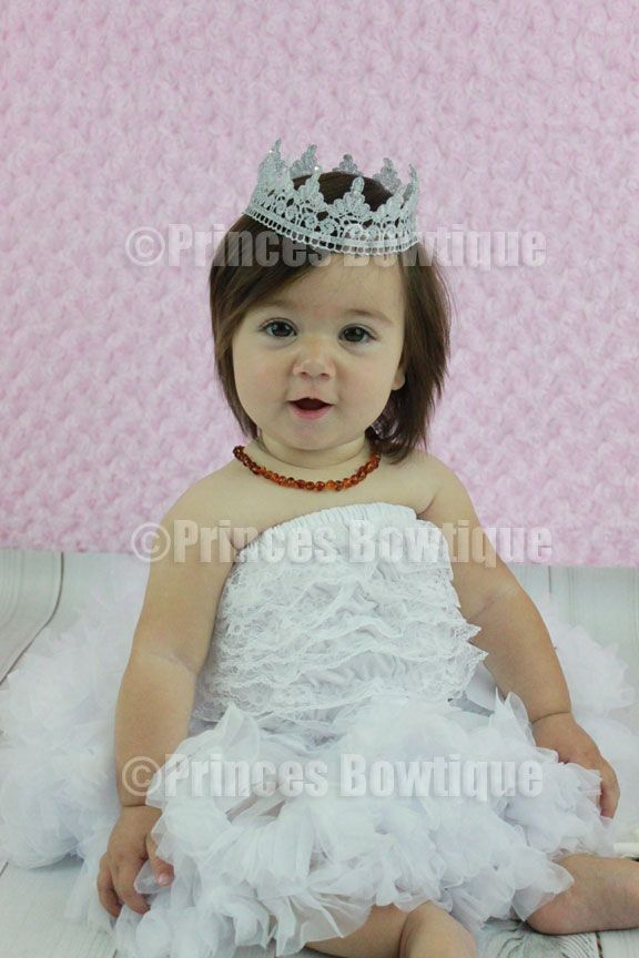 8b255f34d87 Princess Silver Baby Infant Crown Pageant