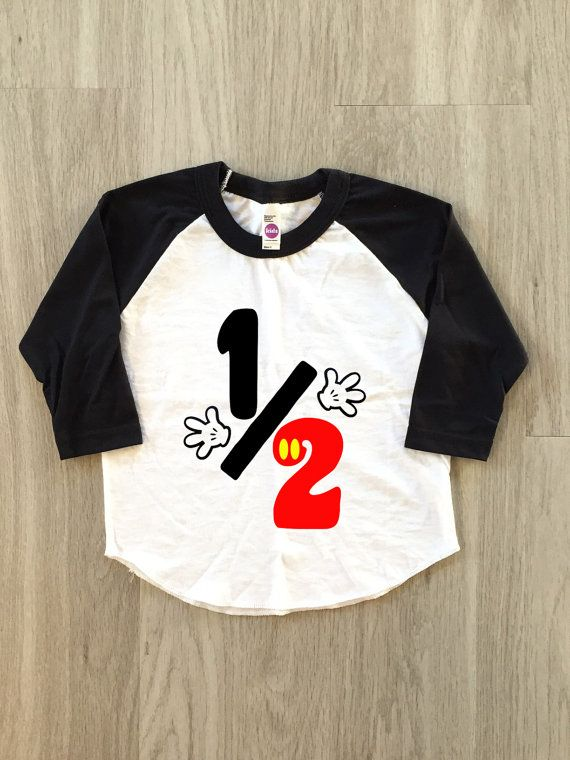 Half Birthday 1 2 Baby Boy Or By 8thWonderOutfitters