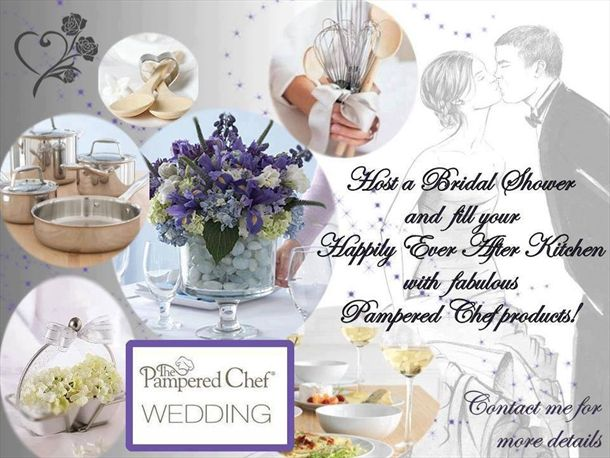 pampered chef bridal shower ideas with ck hall pampered chef wedding registry albuquerque