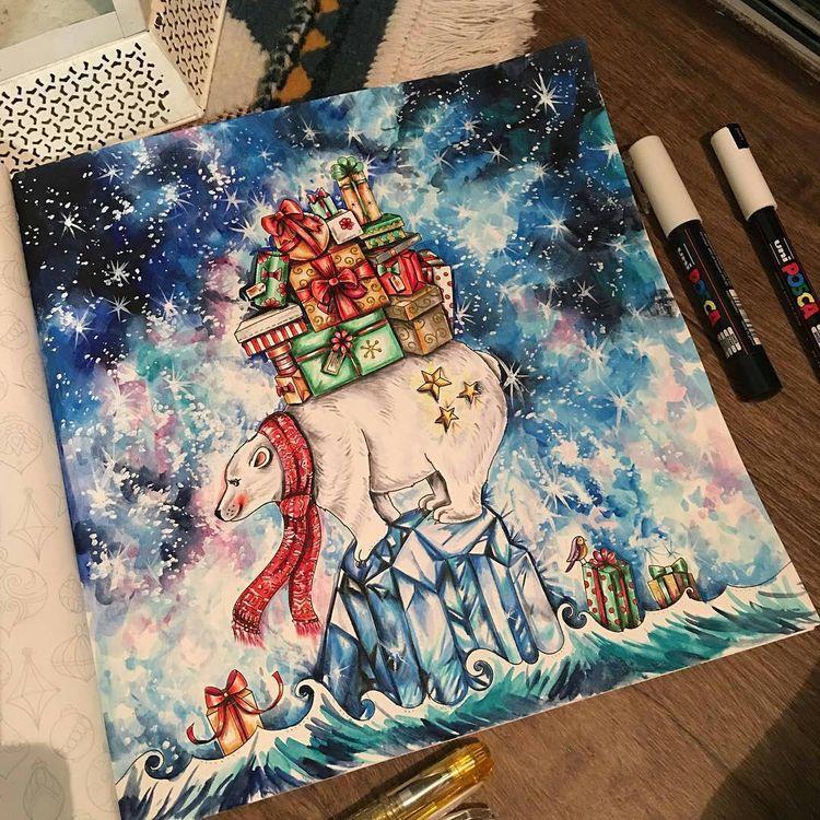 Muito mágico!!!! @Regrann from @dreams.colors - #polarbea