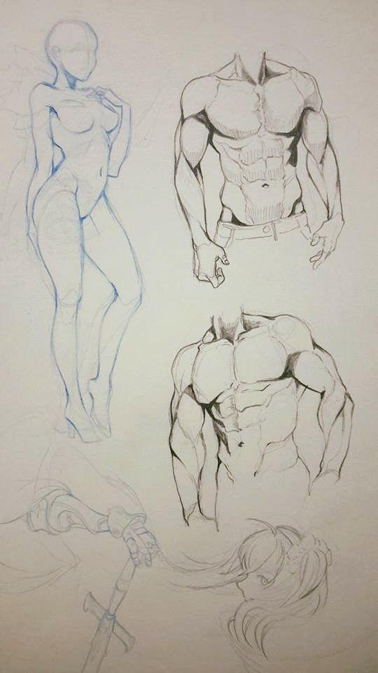 10+ Desenho impressionante As idéias da figura humana