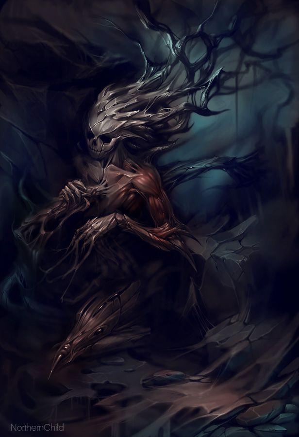 ✯ Deathly Roots :: Artist Tatiana Vetrova*✯